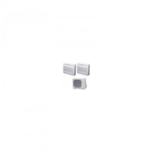 Climatisation console basse r versible bi split inverter general fujitsu agg12ui lv x 2 - Console climatisation reversible ...