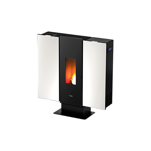 PELLET AIR PLUS 10 KW WALL 3 PLUS VETRO