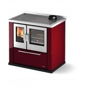 Cuisiniére é bois libre d'installation CADEL Kook 87 céramique 7.5kW
