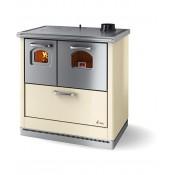 Cuisiniére é bois libre d'installation CADEL Smart Acier 6kW