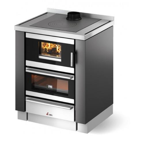 Cuisiniére é bois encastrèble CADEL Kook 70 6.7kW