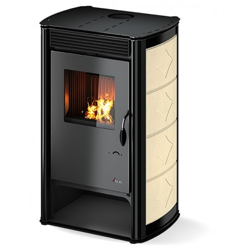 Poêle à bois CADEL Aurora céramique 10.7kW