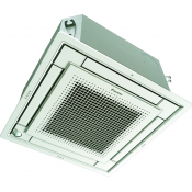 Climatiseur rèversible inverter cassette 4 voies extraplate Daikin FFQ35C + RXS35L 3.4 kW