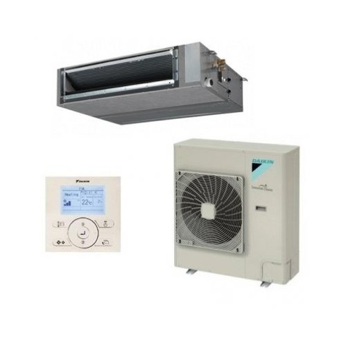 Gainable haute pression inverter Daikin Gamme Seasonal Smart FBQ100D + RZQG100L9V1 + BRC1E52A monophas+ 9.50kW