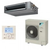 Gainable haute pression inverter Daikin Gamme Seasonal Smart FBQ125D + RZQG125L9V1 + BRC1E52A monophasè 12kW