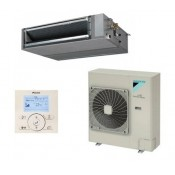 Gainable haute pression inverter Daikin Gamme Seasonal Smart FBQ125D + RZQG125L8Y1 + BRC1E52A triphasè 12kW