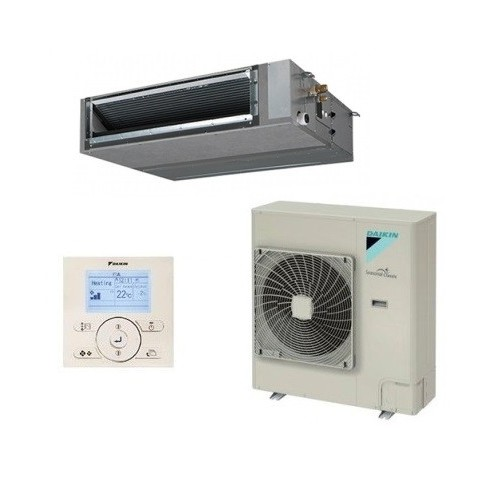 Gainable haute pression inverter Daikin Gamme Seasonal Smart FBQ140D + RZQG140LY1 + BRC1E52A triphasè 13kW