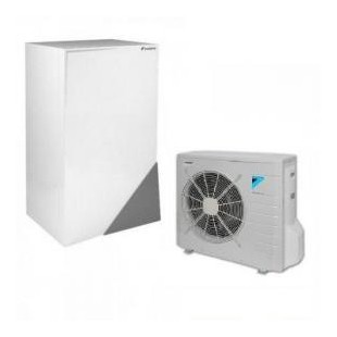 Altherma ERLQ008CV3 + EHBX08CB3V 8.0 kW 230V