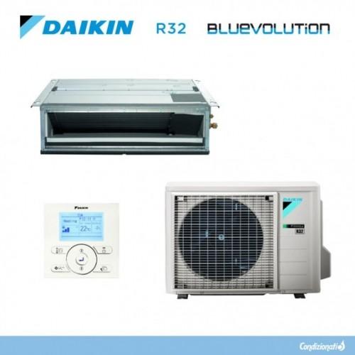 DAIKIN CLIMATIZZATORE MONOSPLIT CANALIZZABILE FDXM35F3 + RXM35M9 R 32