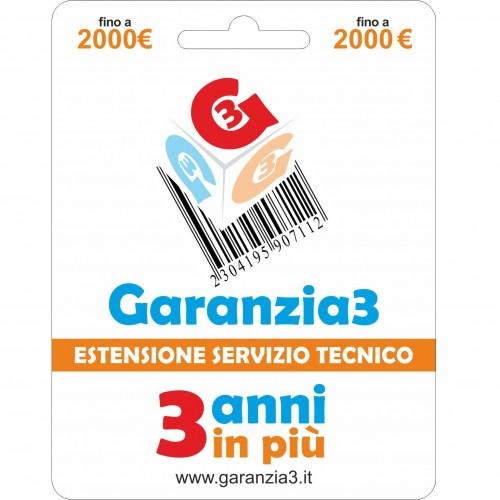 GARANZIA 3 Erweiterung des...
