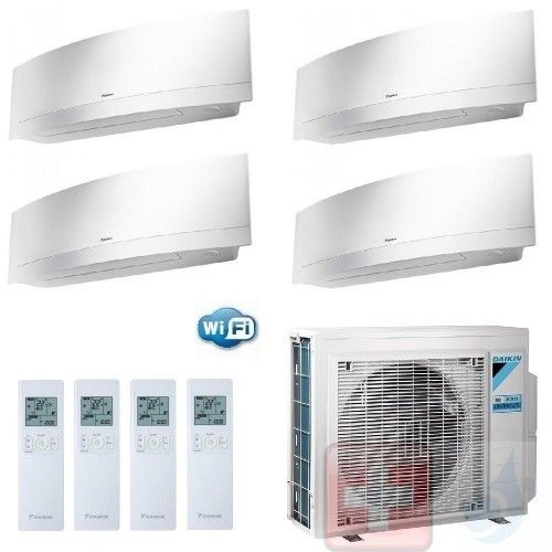 Daikin Quadri Split 7+7+7+9...
