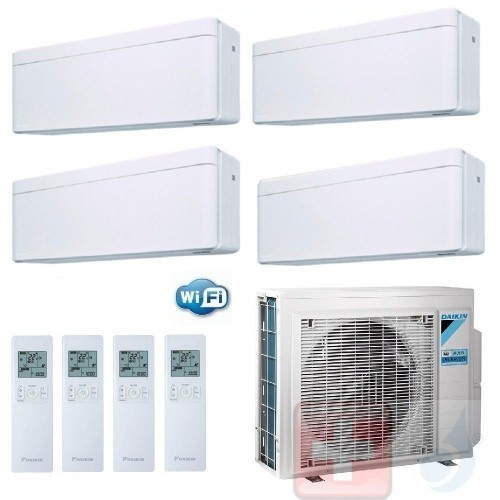 Daikin Quadri Split 9+9+9+9...