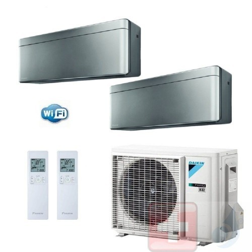 Daikin Duo Split 9+9...