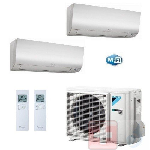 Daikin Duo Split 12+12...