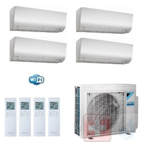 Daikin Quadri Split 5+5+9+9...