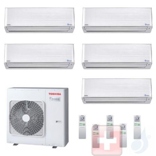 Klimageräte Toshiba Penta 9+9+9+9+12 S Daiseikai 9 RAS-5M34U2AVG-E